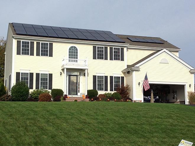 Go green with Newport Solar