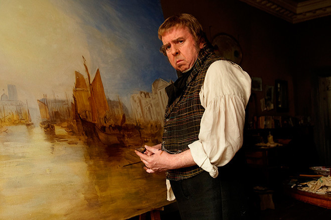 Mr. Turner opens this weekend at The Jane Pickens Theater.