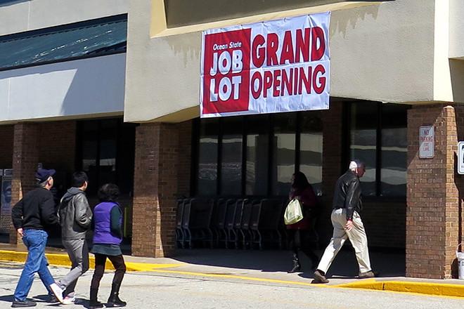 New Ocean State Job Lot off of North Main Street