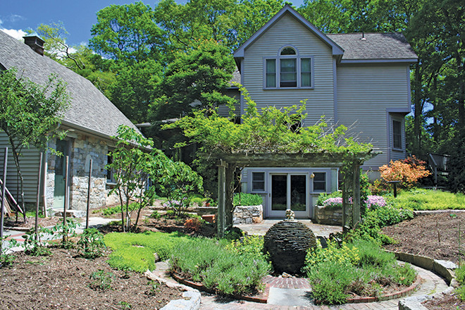John Manchester turned his home into a living landscaper's portfolio.