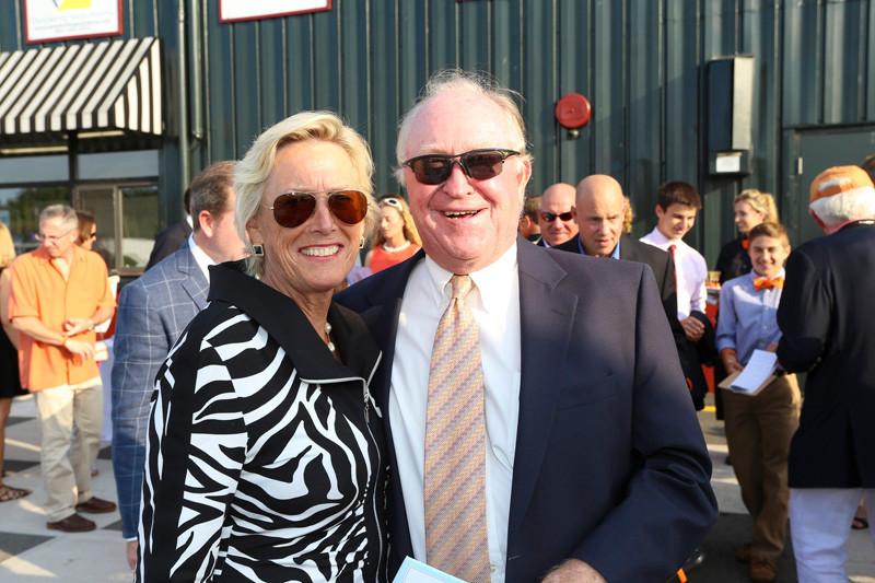 Barbara Pierce and Steve Prime