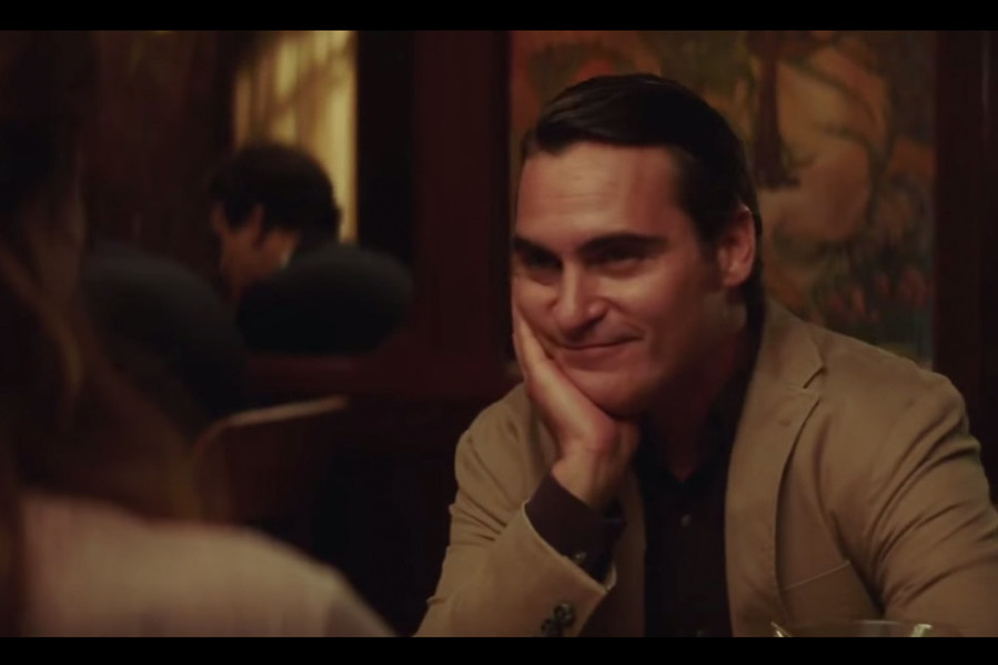 Oh hey, it's totally Joaquin Phoenix at Loie Fuller's in Providence!