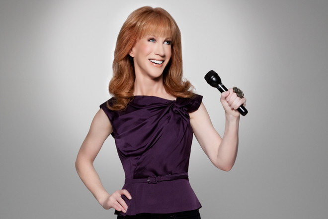 Kathy Griffin makes her way back to Newport for two performances this weekend.