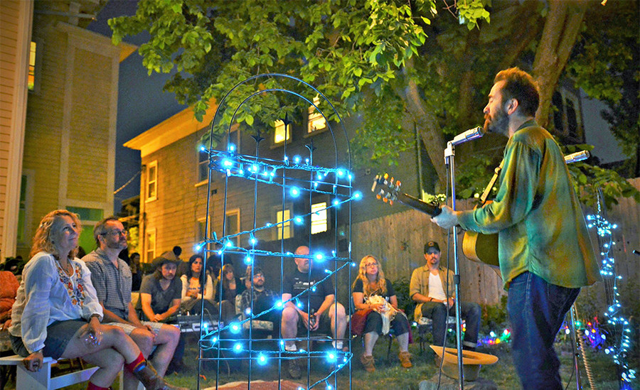 Backyard shows have been a growing, and welcome, part of the Providence music scene.