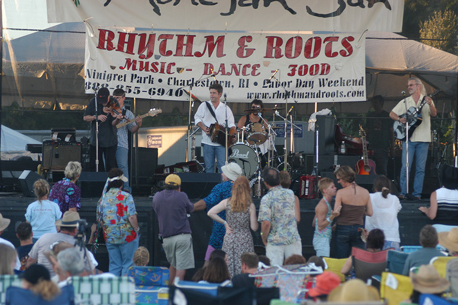 Steve Riley and the Mamou Playboys will be performing this weekend at the 18th Annual Rhythm and Roots Festival.