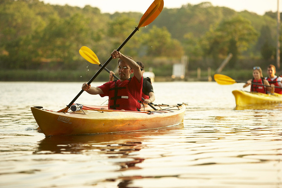The Kayak Center in Wickford is great for beginners and experts alike
