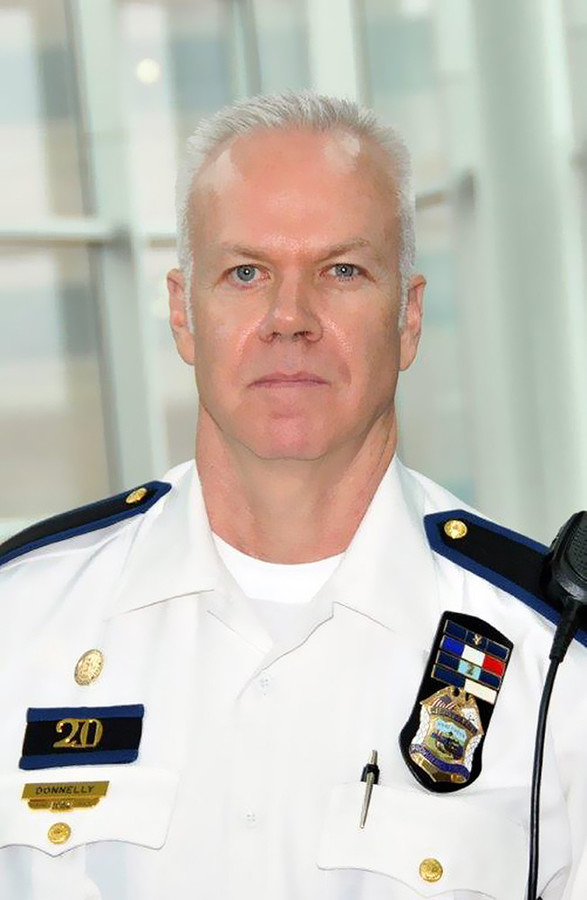 Lt. Joseph Donnelly, head of the two East Side Districts