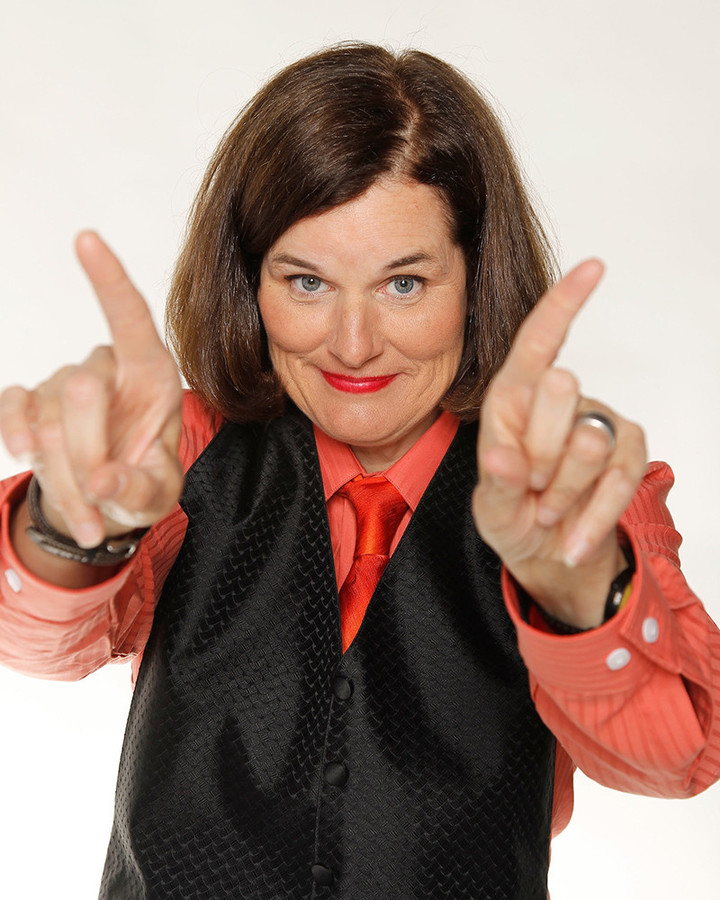 Paula Poundstone takes the stage on October 9