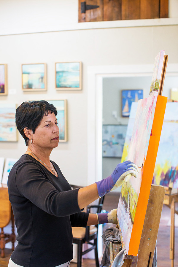 """Denise Zompa of Bristol is highly regarded for her """"Colorscapes"""""""