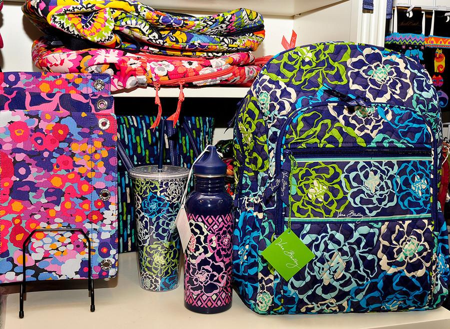 Vera Bradley products: $18-$98