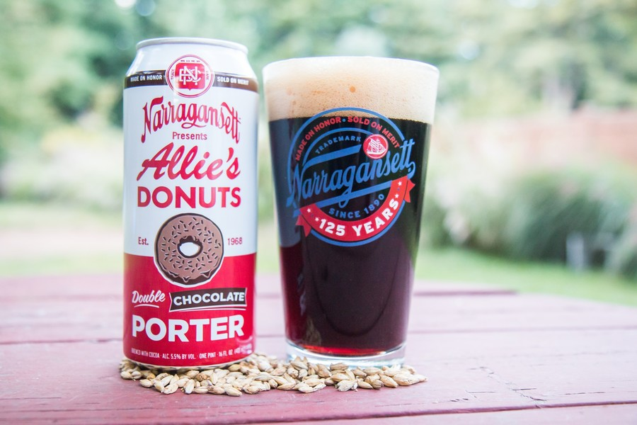 Narragansett Allie's Donuts Double Chocolate Porter