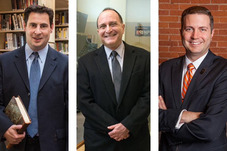 Providence Athenaeum's Matt Burriesci, RI NPR's Torey Malatia, Trinity Rep's Tom Parrish