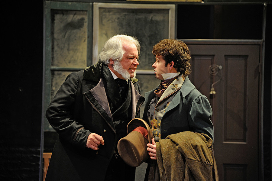 Trinity Rep's A Christmas Carol returns to the stage this Saturday.