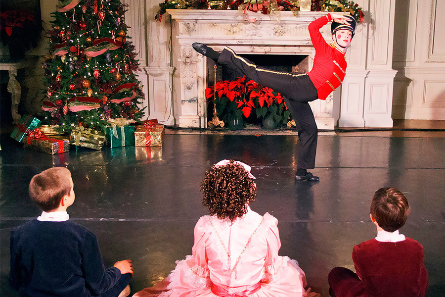 Newport Nutcracker at Rosecliff
