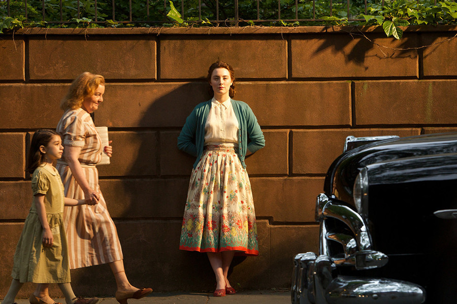 Saoirse Ronan as Eilis Lacey in Brooklyn.