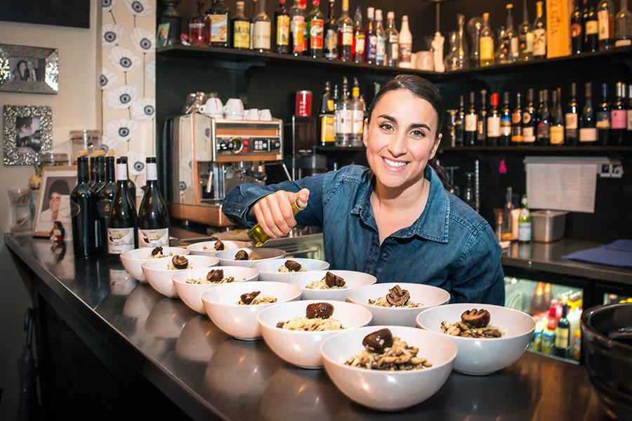 Chef Lia Labbadia of Enoteca Umberto