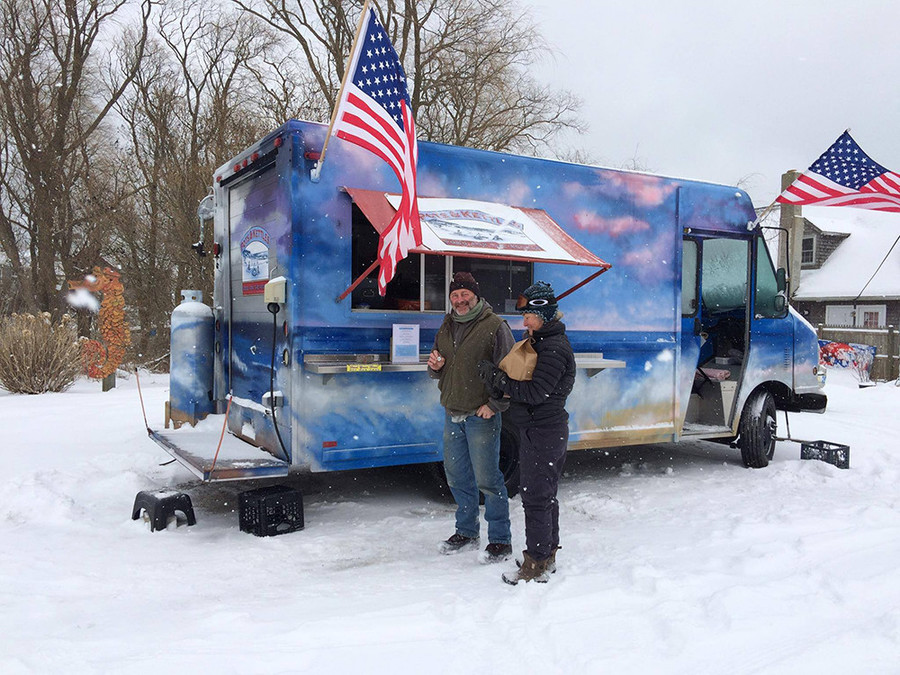 Pots and Kettles – proving that food trucks aren't just for summer days