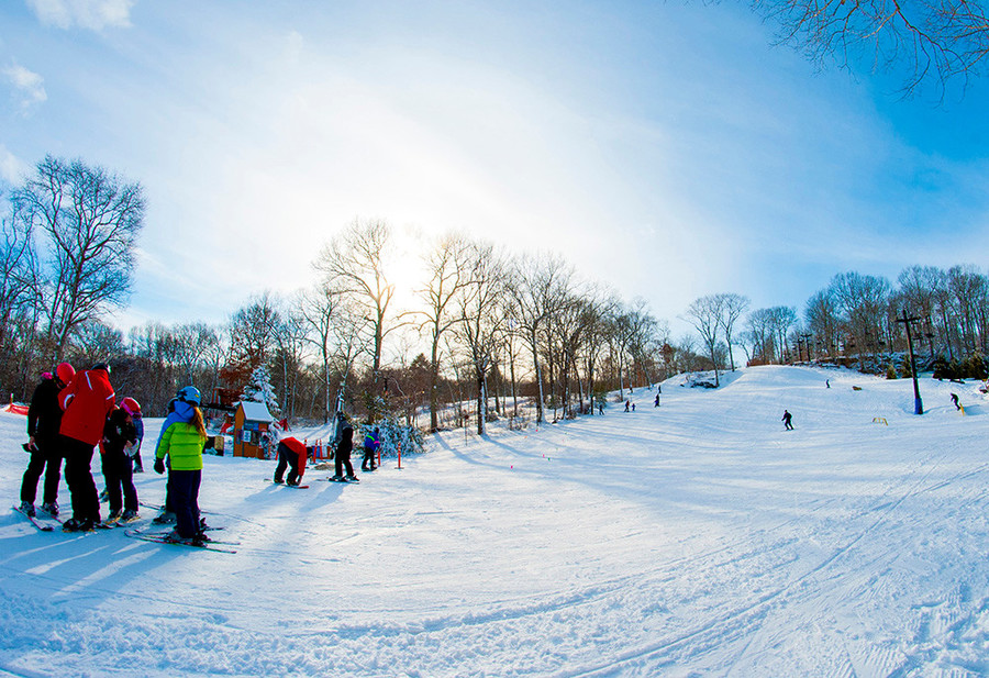 Dust off those skis and hit the slopes at Yawgoo.