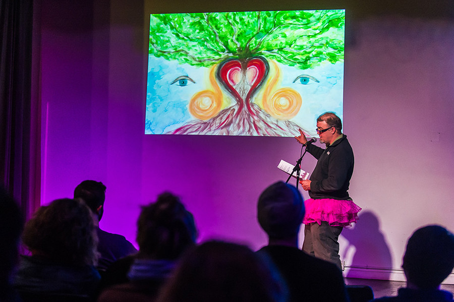 Community, connection and a ton of laughter are on the agenda  at PechaKucha every month