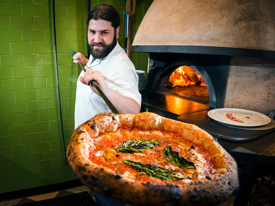 Frankie Cecchinelli of Figidini Wood Fired Eatery