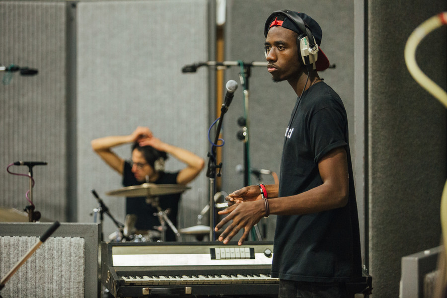 DAP recording in Abbey Road Studios in September 2015.