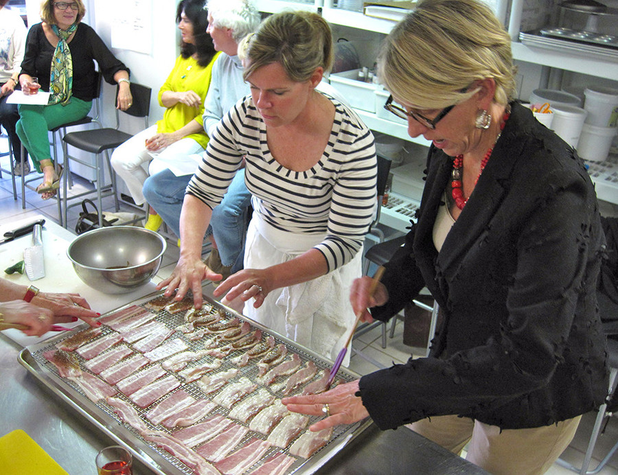 Learn new kitchen skills at Newport Cooks
