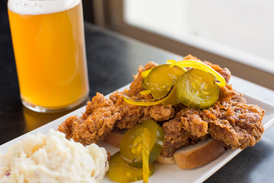 Southern-style fried chicken from The Slow Rhode in Providence
