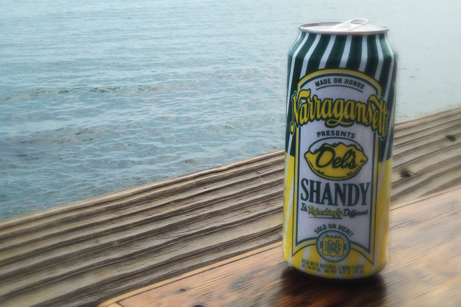 Two of Rhode Island's greatest achievements in one convenient tallboy