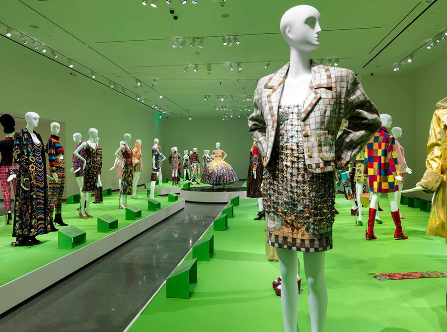 All of Everything: Todd Oldham Fashion is on display at the RISD Museum through September 11