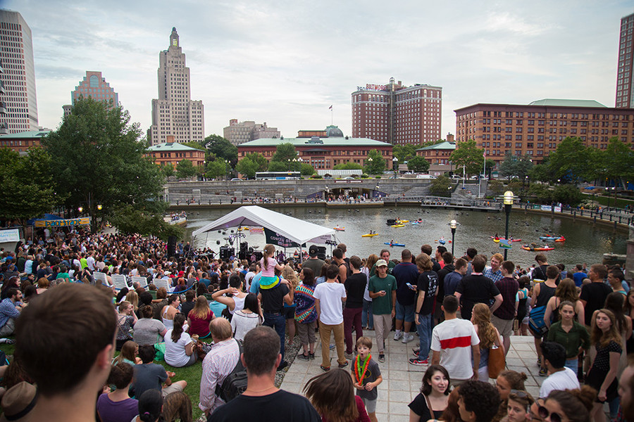 Waterplace Park kicks out the jams every Friday all summer long