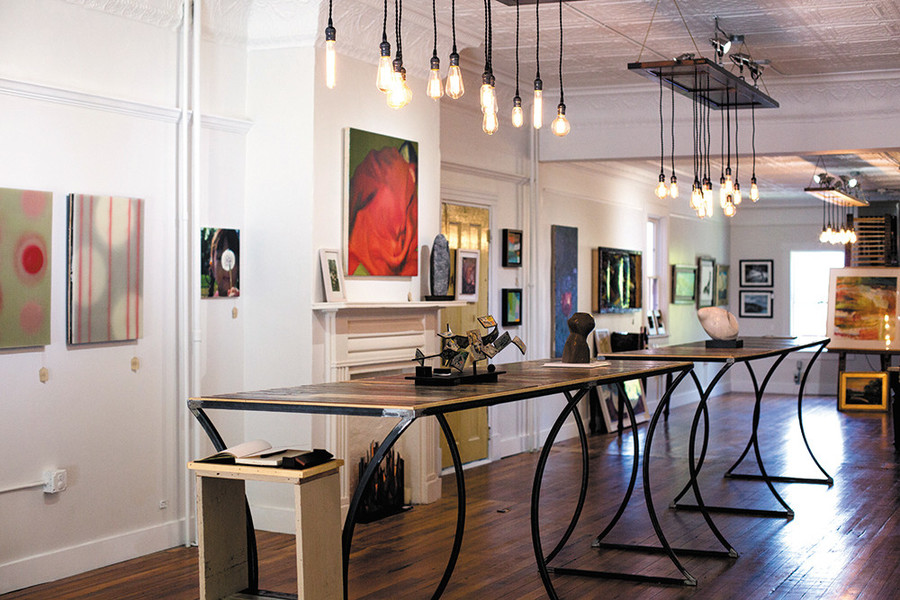 The Mint Gallery will host Wine and Paint Nights, art classes, monthly signature food nights and more