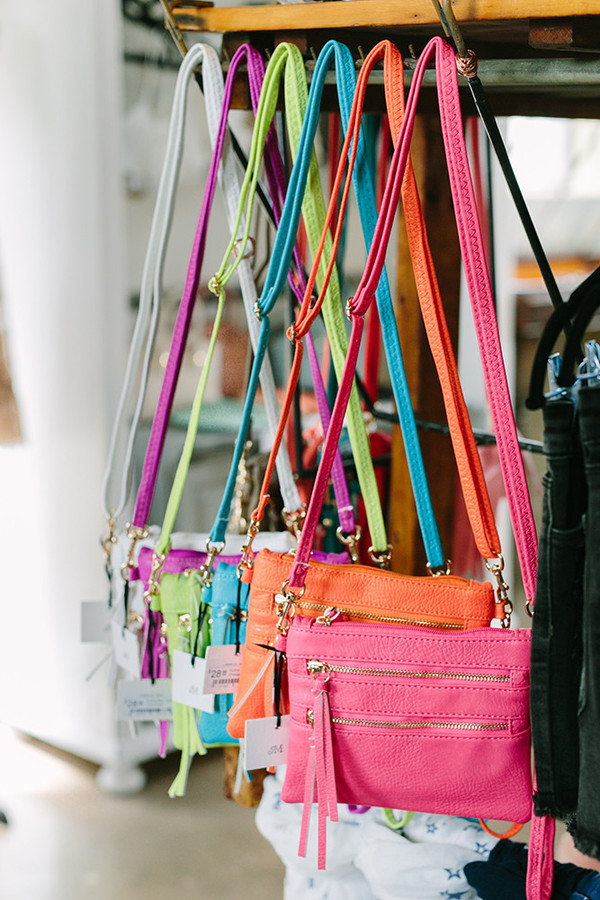 Crossbody/Wristlet Bags in Assorted Colors, $28
