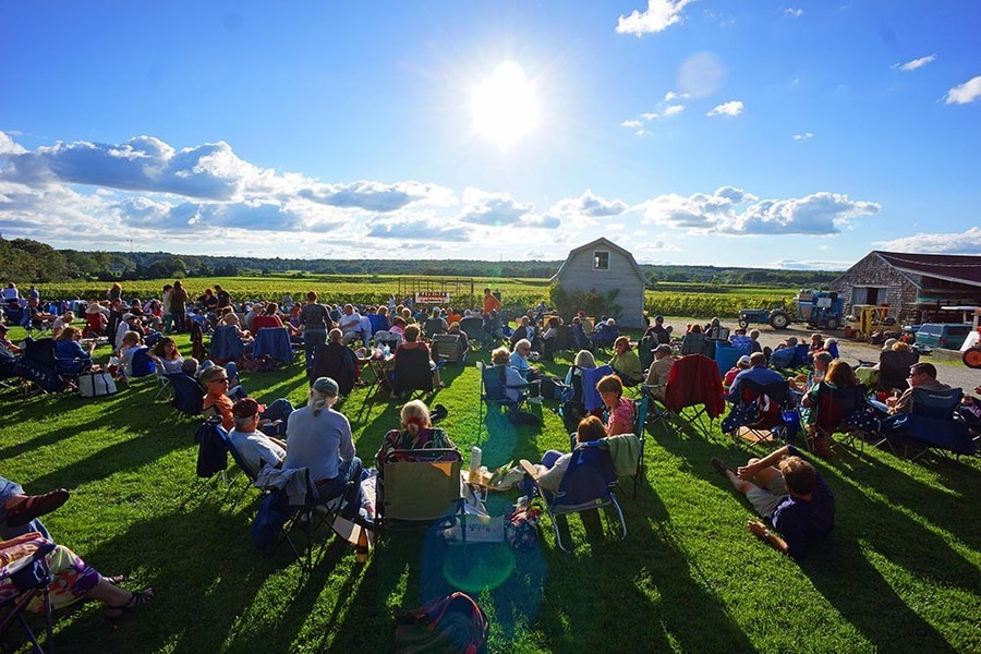 Westport Rivers Winery Sunset Summer Concert Series