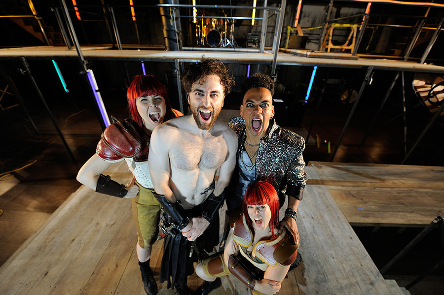 With Beowulf: A Thousand Years of Baggage, Trinity Rep is putting a rock and roll spin on a lit course classic