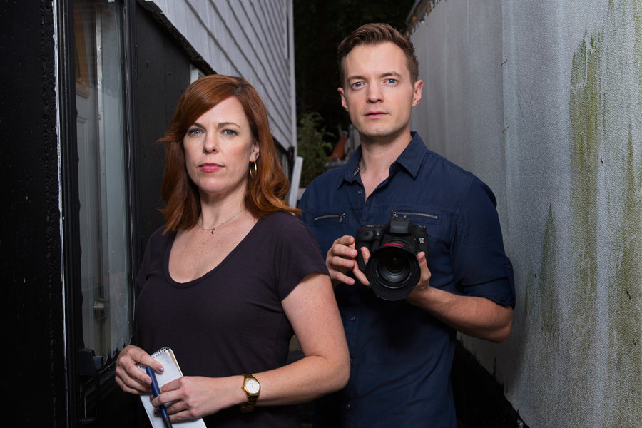 Amy Bruni and Adam Berry investigate haunted happenings on Kindred Spirits