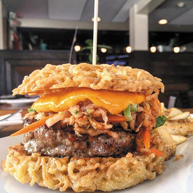 The Ramen Burger from Chomp