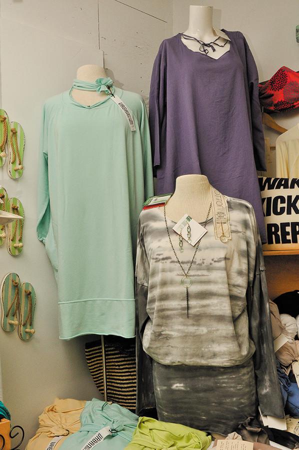 Rock Cotton clothes, $40-$80