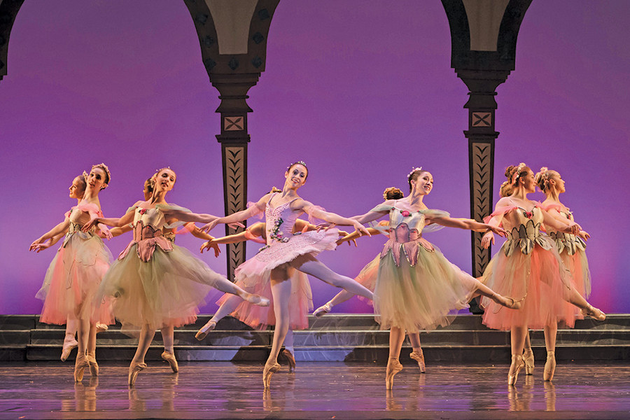 Visions of sugar plums dance across the PPAC stage for Festival Ballet's The Nutcracker