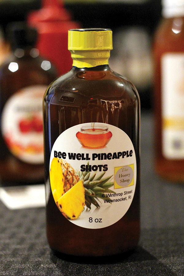 Pineapple Apple Cider Shots, $15