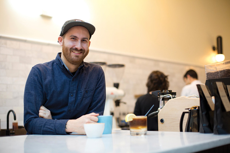 Mark Hundley of Bolt Coffee Company was brewing craft coffee before it was cool