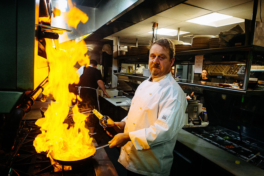 Celebrating differing culinary sensibilities is top of mind for Chef David Parr of Bridge