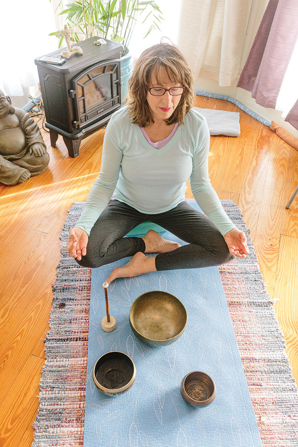 Bliss out at Heart Center Yoga's weekend meditation classes in Narragansett