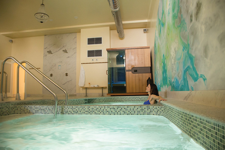 The Water Journey at Bodhi Spa in Newport detoxifies your body