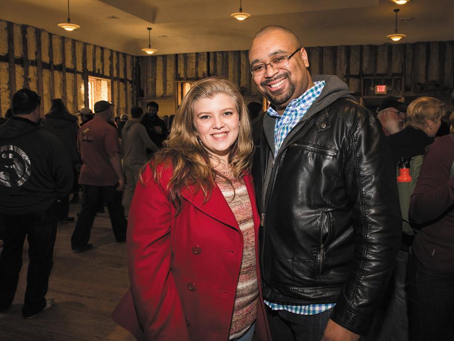 Deanna Guthrie and Derek Simmons