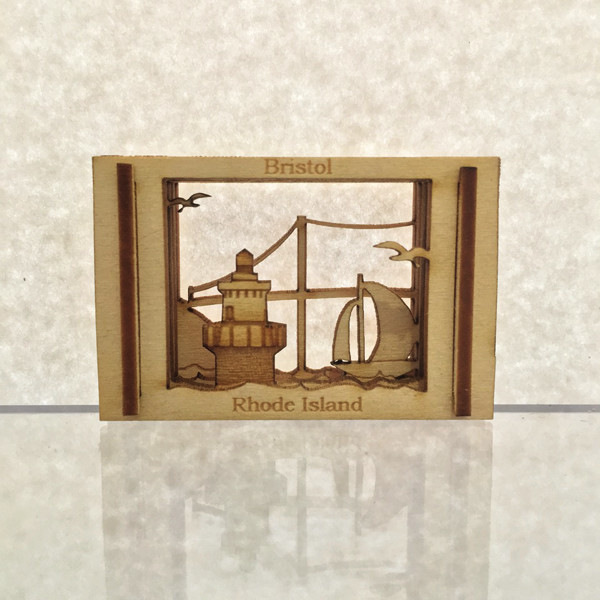 Artist JJ Strong took his laser etching hobby out of the basement to create memorable scenes of coastal living