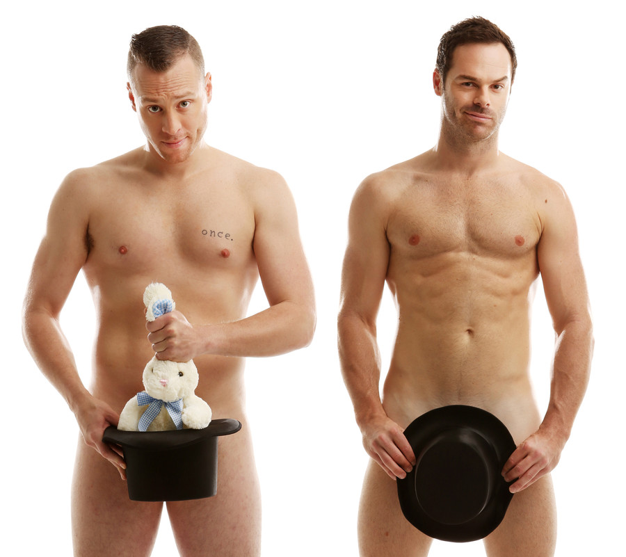 The Naked Magicians, Christopher Wayne and Mike Tyler