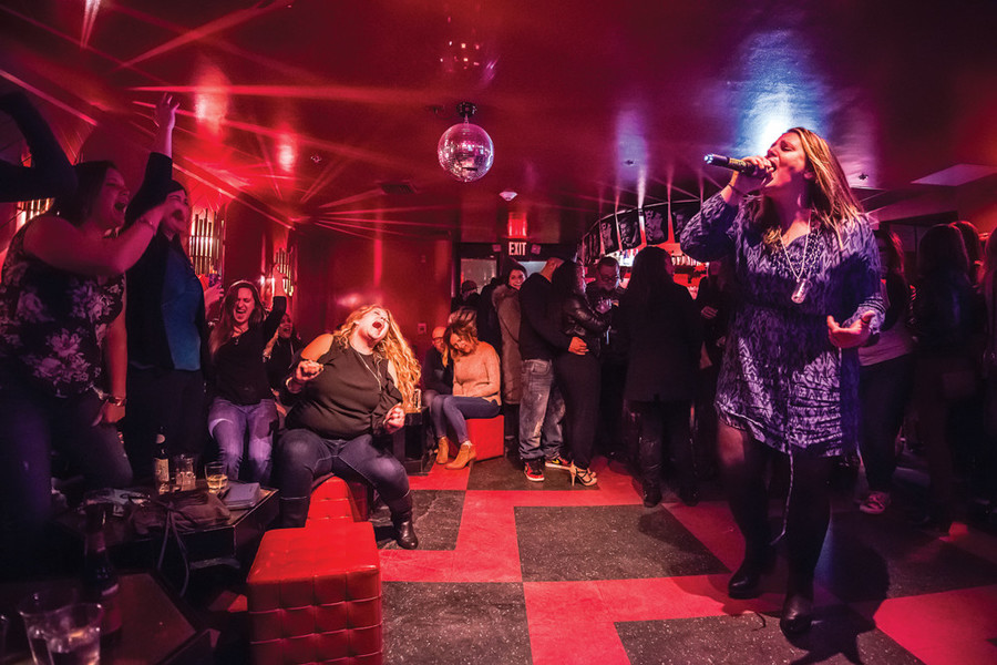 Be a rock star for a night at the Boombox inside the Dean Hotel