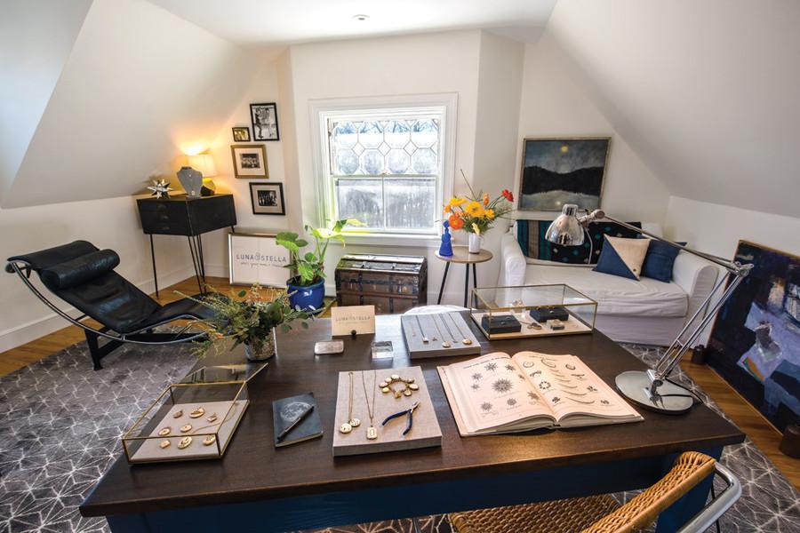 The design space of Luna & Stella's Suzanne Ellis Wernevi