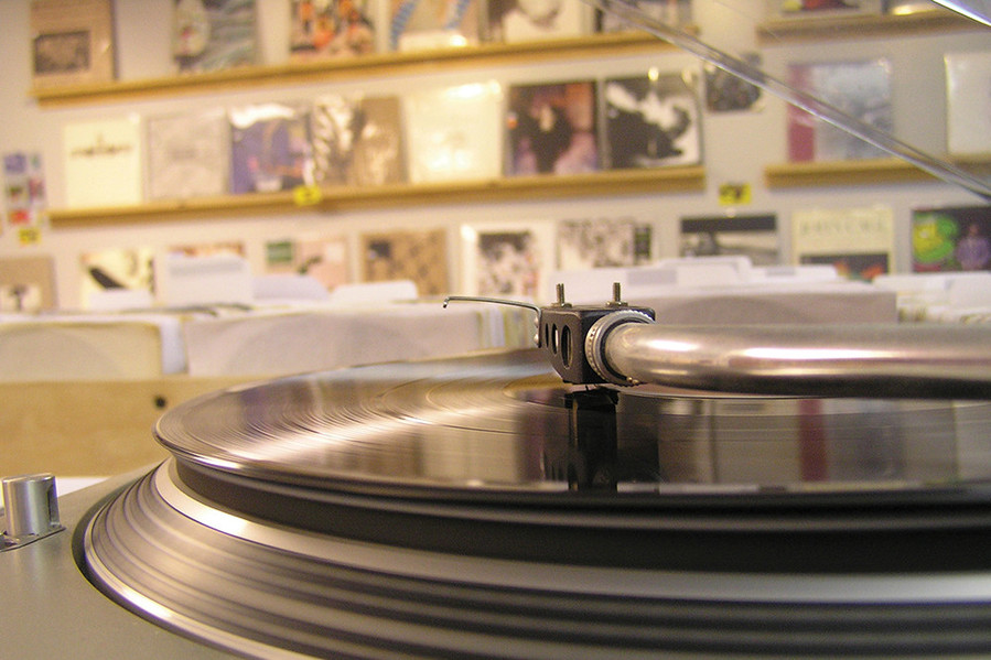 Olympic Records opened on Wickenden Street in 2011 and has embraced vinyl's comeback