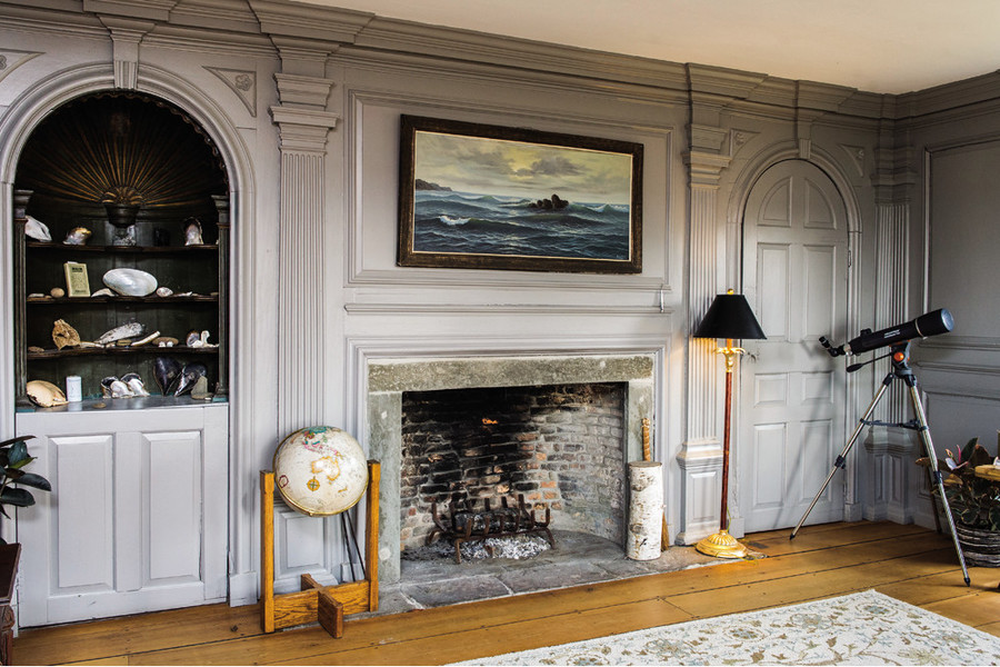 Matunuck Oyster Bar owner Perry Raso's home reflects a life dedicated to the sea